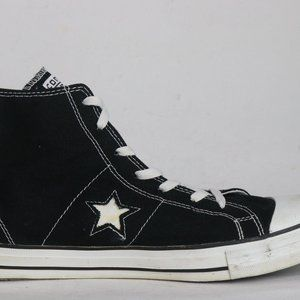 Converse One Star Black Suede Size 11 Men's Shoes